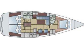 Hanse 470e – 2009 completo