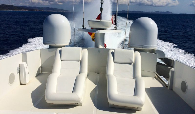 PERSHING 90 – CHARTER completo